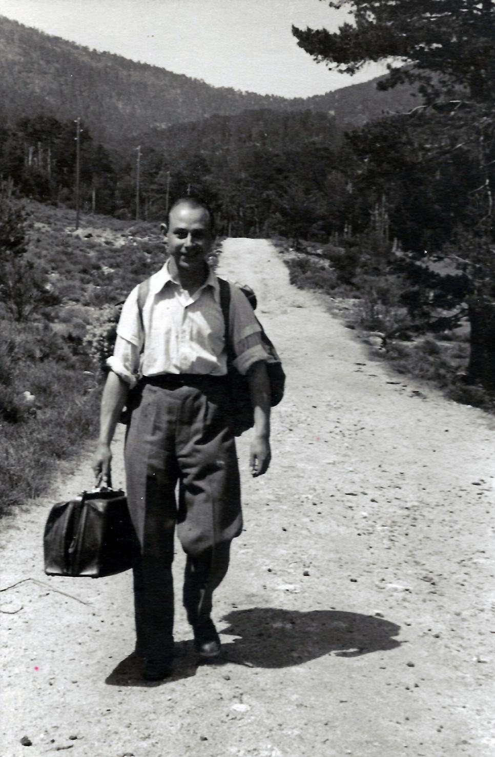 Roberto Kallmeyer. Años 50. Archivo Arqueología de Imágenes.