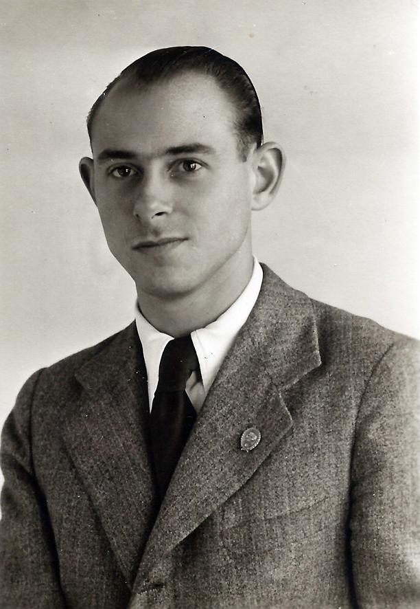 Roberto Kallmeyer, fotógrafo y técnico de artes gráficas. Años 40.