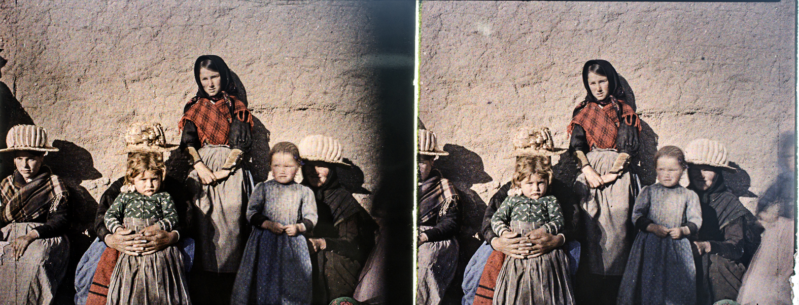 Mujeres y niñas de Ávila. 1910. © Herederos F. Avial.