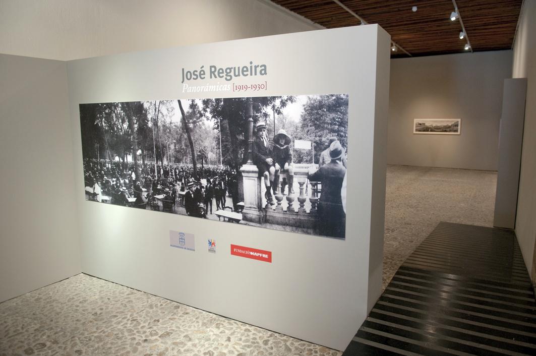 Exposición José Regueira. Panorámicas de Madrid. (1919-1930). Inaguración en la sala de La Alhóndiga en Segovia.