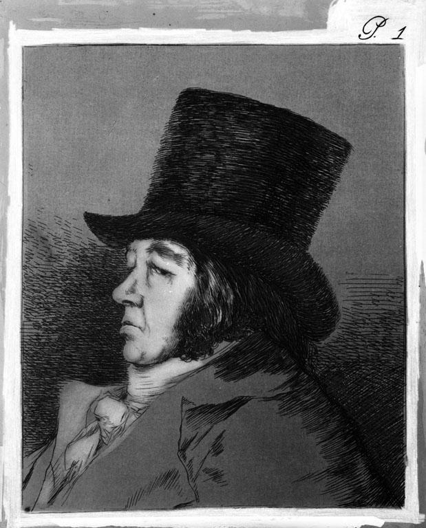 Francisco de Goya. Serie Caprichos, nº 1. 1961. R. Kallmeyer. Archivo Arqueología de Imágenes.