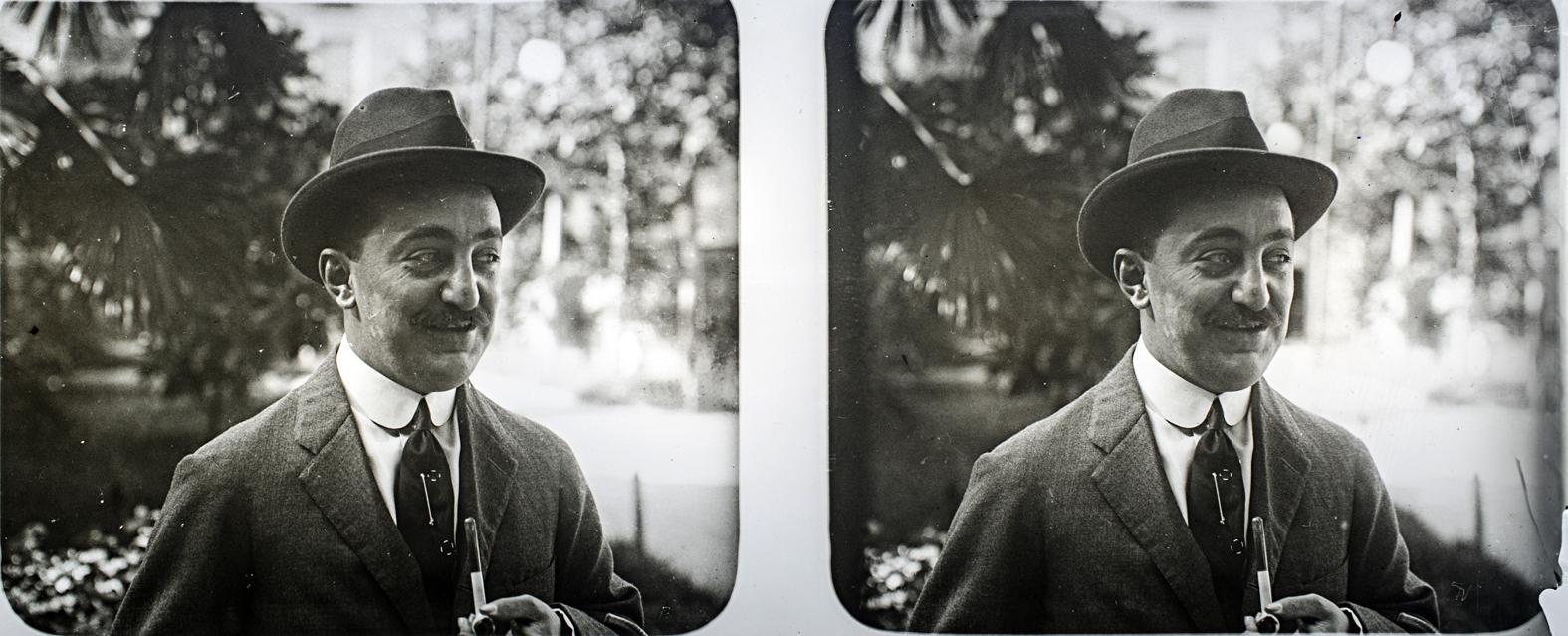 Francisco Rodríguez Avial. Autorretrato, 1910. © Herederos F. Avial.